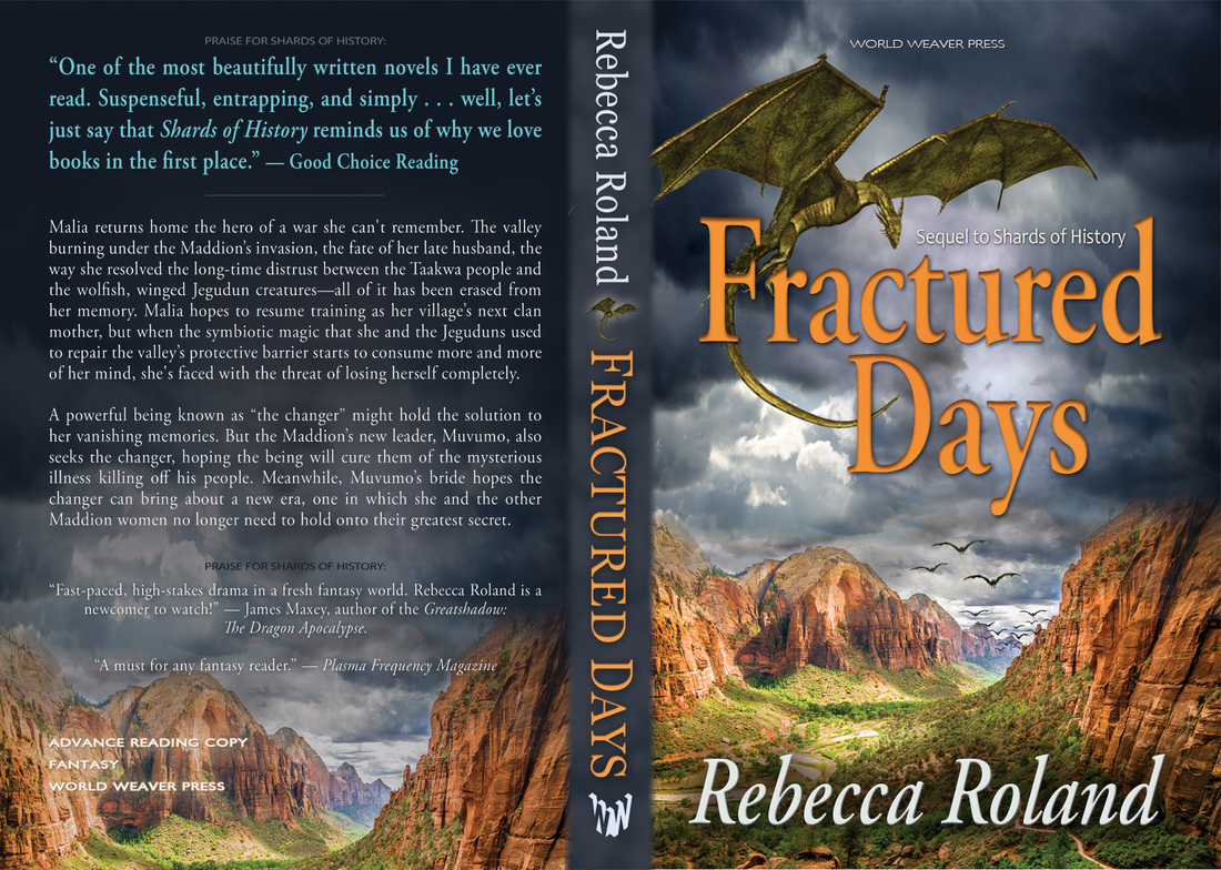 Fractured Days, Rebecca Roland, Shards of History, World Weaver Press