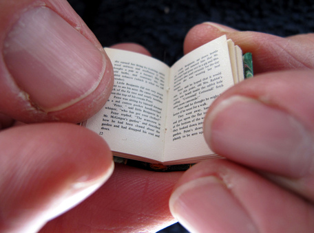 Miniature 1/12th scale book by The Shopping Sherpa via Flickr